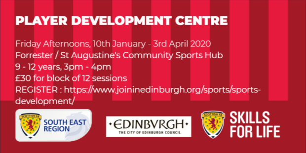 Player Development Centre Flyer-Jan - Apr
