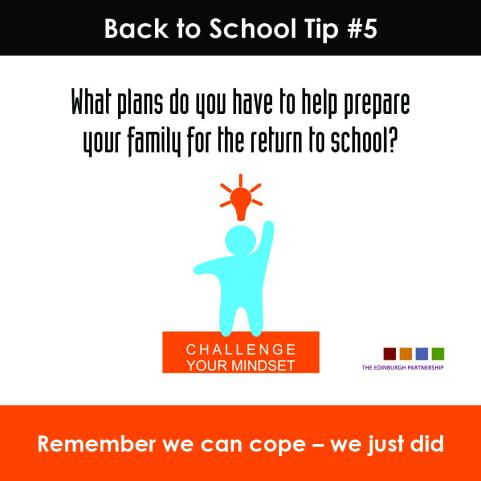 Back to School Tip #5