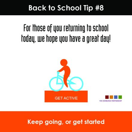 Back to School Tip #8