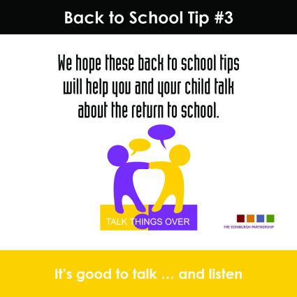 Back to School Tip#3