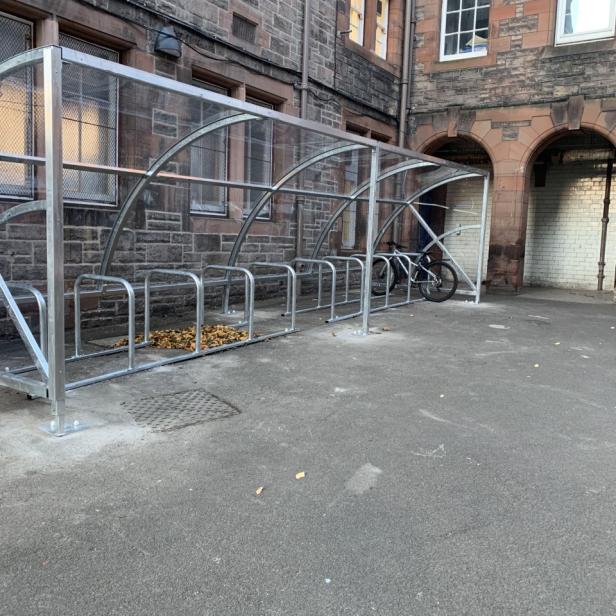Bike Shelter 1